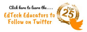Top 25 EdTech Educators to Follow