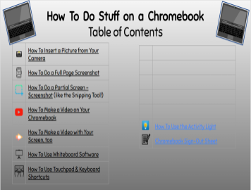 How To Do Stuff on a Chromebook